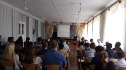 обучающиеся 9-11 классов МБОУ гимназии №3 г. Пролетарска